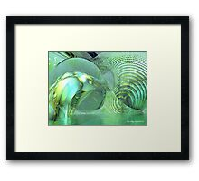 Dali Meets Picasso3 Framed Print