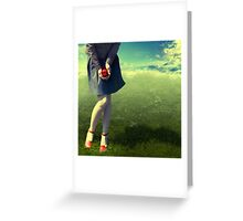 Apple Story Greeting Card