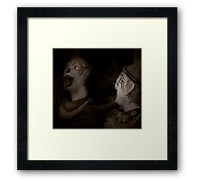 Did I tell you the one about....? Framed Print