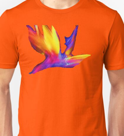 Bird of Paradise Abstract T-Shirt