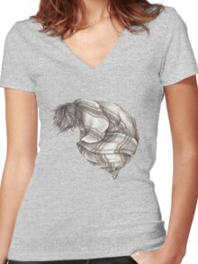 Recovery Women's Fitted V-Neck T-Shirt