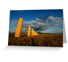 Monolithic Odyssey Greeting Card