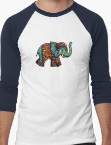Rajah TShirt Men's Baseball ¾ T-Shirt