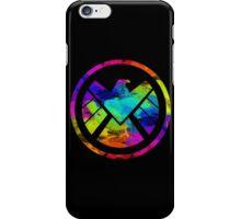 Splatter S.H.I.E.L.D.  iPhone Case/Skin