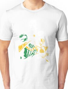Green With White Unisex T-Shirt