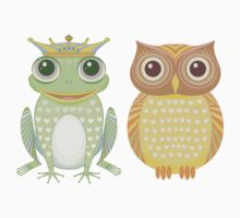 Frog & Owl Kids Clothes