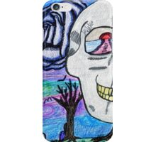 Little Girly, Little Goth iPhone Case/Skin