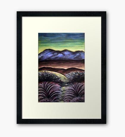 SUN RISE Framed Print