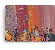 Outback Kangaroos Canvas Print