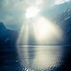 A Light in the Darkness - Milford Sound, NZ by batakbeatrix