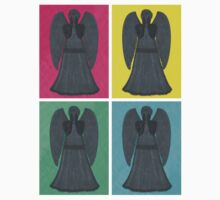 Weeping Angels Pop Art Kids Clothes