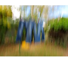 Washing Day Impression Photographic Print