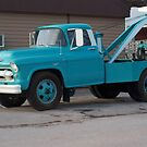 50's Chevrolet Tow Truck by Diane Trummer Sullivan