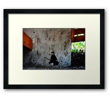 Tofino Graffiti, 2015 Framed Print