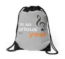 I'm so curious, yeah~ Drawstring Bag