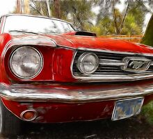 Dad's 1966 Mustang Fastback by Brandon Taylor