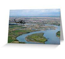Blackhawk Aerial Recon, Mosul, Iraq Greeting Card