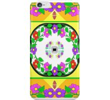 Smart Tech, Fashion, and Home Accessories in Citrus Colored Foulard Design iPhone Case/Skin