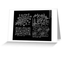 New Sample Book of Our Artistic Perforated Parchment Stamping Patterns Kate Greenaway, John Frederick Ingalls 1886 0045 Inverted Greeting Card
