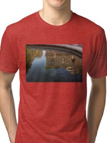 Noto's Sicilian Baroque Architecture Reflected Tri-blend T-Shirt