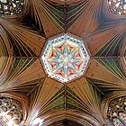 The Octagonal Lantern with Windows, Ely Cathedral by Priscilla Turner