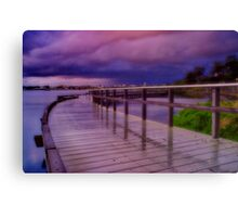 """Twilight Tempest"" Canvas Print"