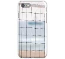 Volleyball Net On Ponquogue Beach | Hampton Bays, New York  iPhone Case/Skin