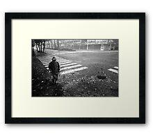 Typhoon Krosa Framed Print