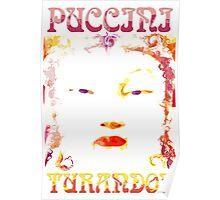 Turandot - Experimental Poster Design Poster