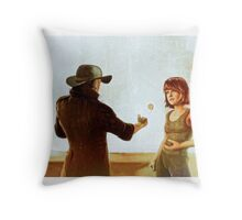 One Good Turn Throw Pillow