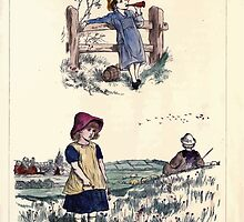 The Little Folks Painting book by George Weatherly and Kate Greenaway 0155 by wetdryvac