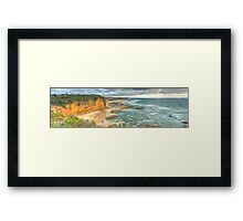 Great Ocean Road: Eagle Rock Framed Print