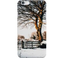 Snow and sunshine iPhone Case/Skin