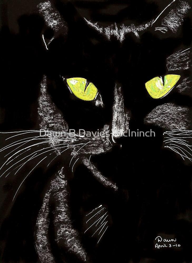 Sassy Cat by Dawn B Davies-McIninch