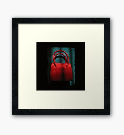 scarlet messenger Framed Print