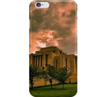 Cardston Alberta Temple iPhone Case/Skin