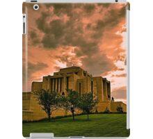 Cardston Alberta Temple iPad Case/Skin