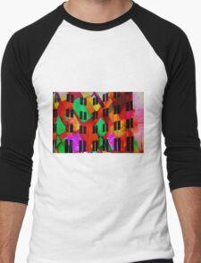 Abstract MCA Men's Baseball ¾ T-Shirt