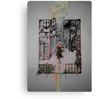 Living in Color Canvas Print