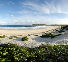 Fingal Bay, Port Stephens by natureshues