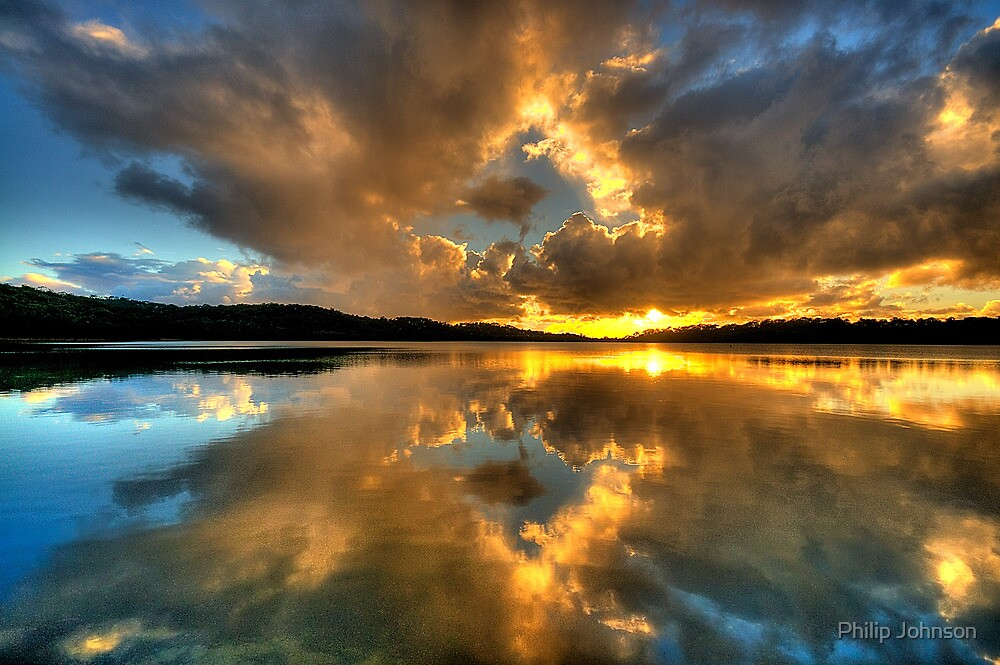 Through The Looking Glass - Narrabeen Lakes - The HDR Experience by Philip Johnson