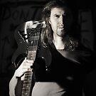 Skull Guitar by Matt Bottos