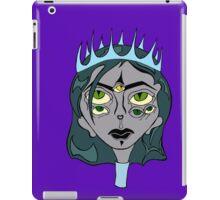 Woman King Ghost Drawing iPad Case/Skin