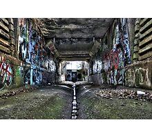 Graffiti Underground Photographic Print