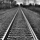 Down The Tracks - 2 by Eric Scott Birdwhistell