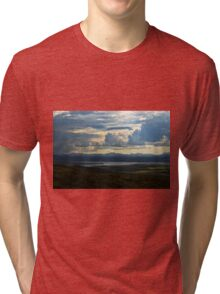 Looking to Inch Island, County Donegal Tri-blend T-Shirt