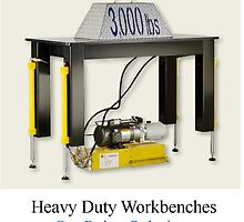 Heavy Duty Workbenches by onepointe1