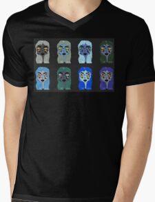 """I Hate Liars"" Ghost Illustration Mens V-Neck T-Shirt"
