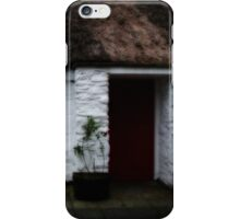 Thatched cottage 2 iPhone Case/Skin