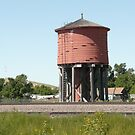 An Old Wooden Water Tower. by Mywildscapepics